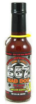 357 Mad Dog Silver Collector's Edition Hot Sauce - 750,000