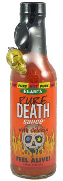 Blair's Pure Death Hot Sauce with Jolokia
